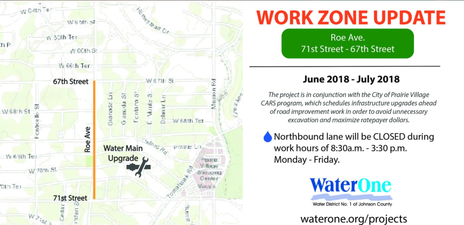 Work Zone Update