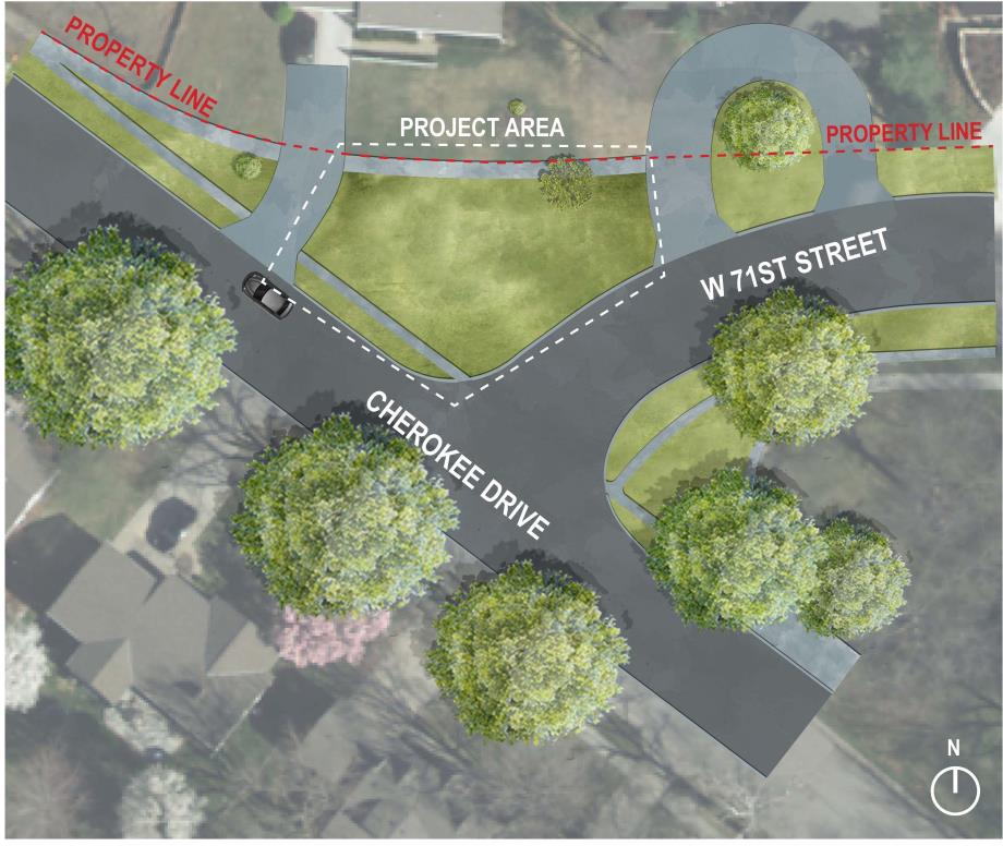 Cherokee Intersection Proposed 2