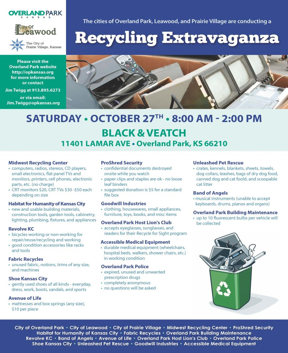 Recycling Extravaganza