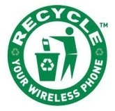Recycle your Cell Phone logo