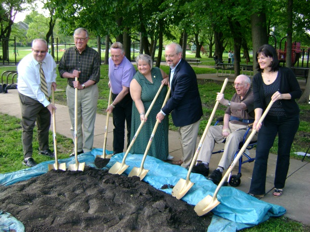 Breaking Ground at Franklin Park